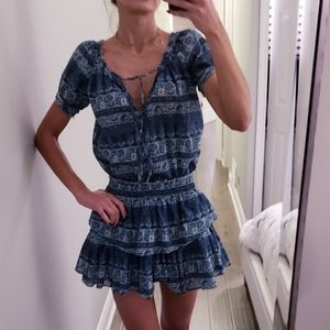 Loveshackfancy Popover Dress, size XS